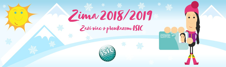 a4442cd25 Lyžovačka s preukazom ISIC a ISIC/EURO 26 - ISIC